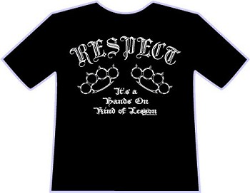 Respect T-shirt by Wicked Jester