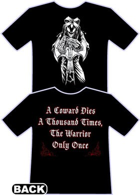 The Warrior T-shirt by Wicked Jester