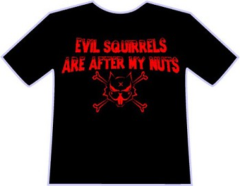 After My Nuts T-shirt by WJ
