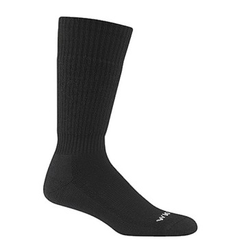 Wigwam Berry Compliant Black Uniform Boot Sock