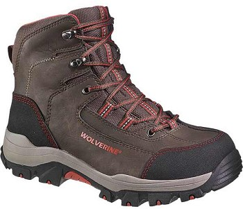 Wolverine Bucklin Brown Composite Toe Waterproof Hiker - W10074