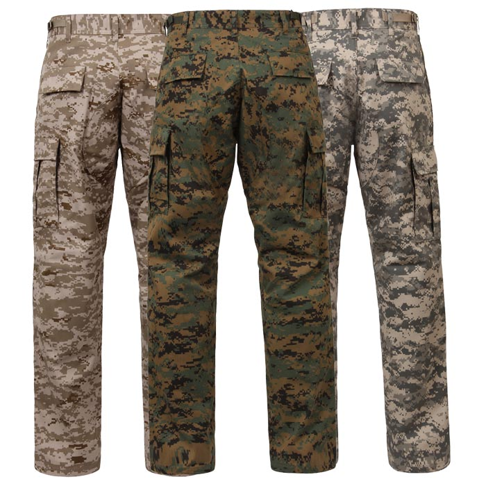 Basic Issue Military Digital Camouflage BDU Pants 32a1a883e51