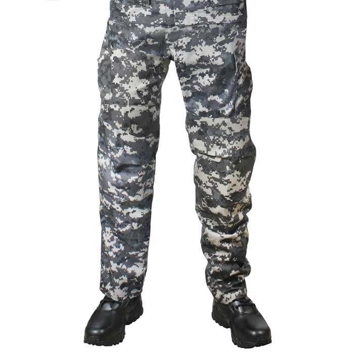 MILITARY Digital CAMOUFLAGE BDU PANTS ARMY MEN/'S SIZE Large Short