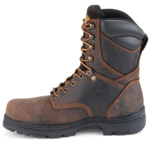 Carolina CA3034 8 Inch Brown Waterproof Insulated Work Boots · Share |