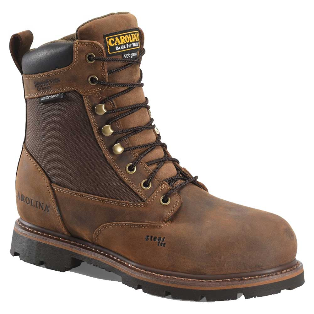 Insulated Steel Toe Work Boot