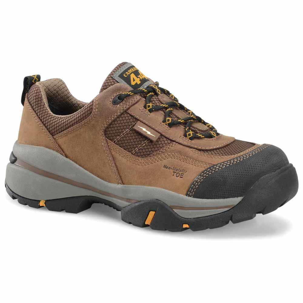 Carolina Ascent Esd Brown Composite Toe Work Shoe