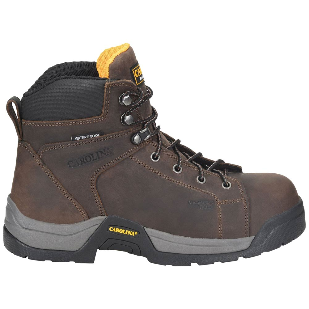 inch Lace-to-Toe Waterproof Work Boot