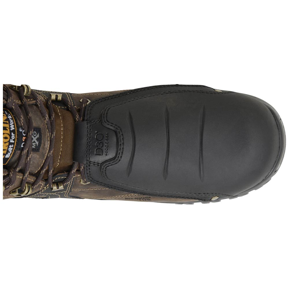 6ed0b85e777 Carolina Miter EXT Men's 6-inch Waterproof Composite Toe Tiger D3O External  Metguard Boot