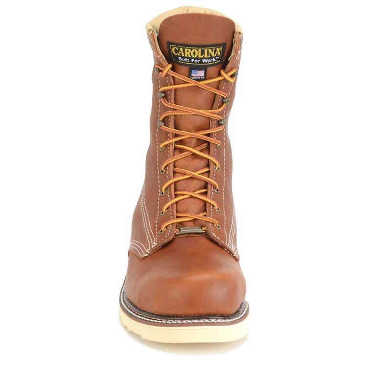 a21f4b0d195 Carolina Amp USA Men's 8-Inch Wedge Steel Toe Work Boot - Made in the USA