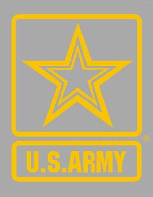 U S Army Star Logo Window Decal U S Army Vinyl