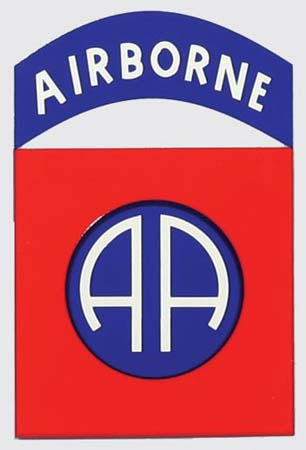 82nd Airborne Shield Decal