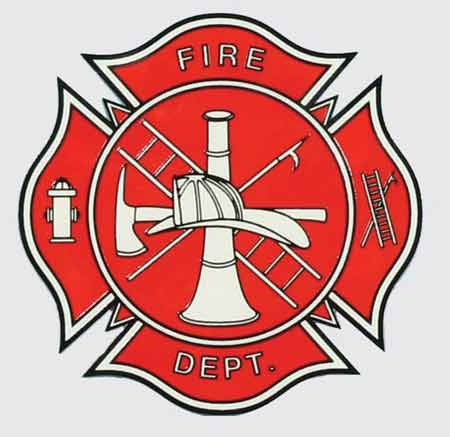Popular Firefighter Logo Sticker : Firefighter Decals GF76