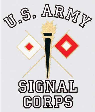 U S Army Signal Corps Decal Army Corps Sticker