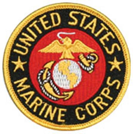 Small United State Marine Corps Emblem Patch Military