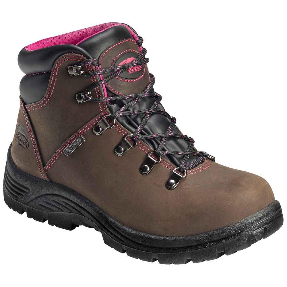 Avenger A7125 Women S Steel Toe Work Boot