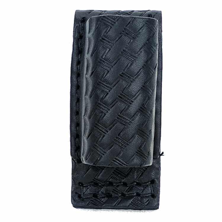 Basketweave Leather Surefire 6P Flashlight Holder