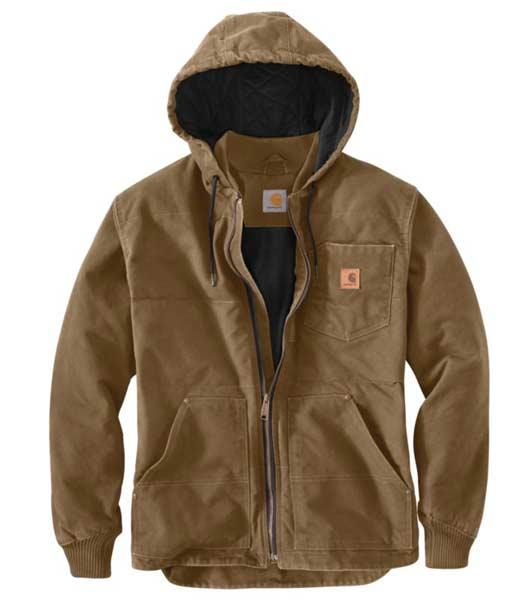 Carhartt Chapman Sandstone Brown Winter Jacket 100729