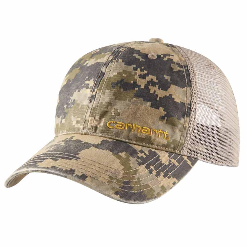 Carhartt Brandt Digital Camouflage Mesh Baseball Cap