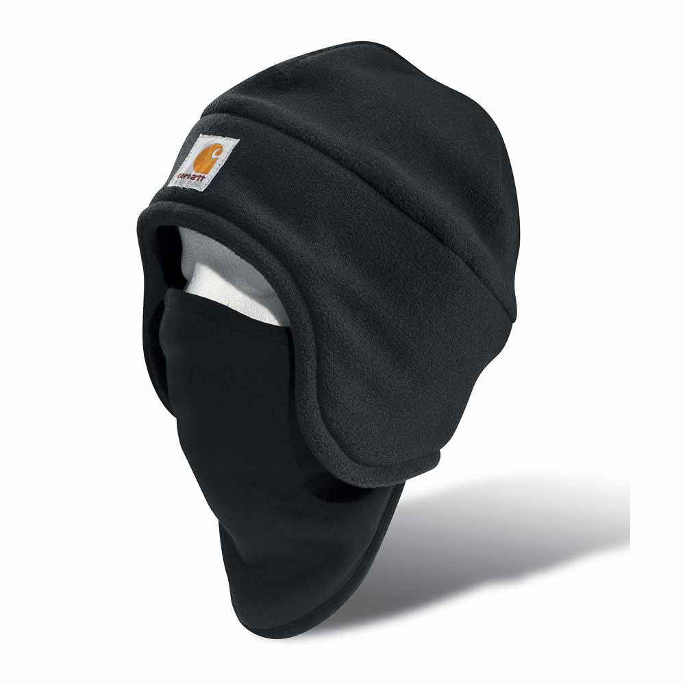 bf49fab63d8 Carhartt Fleece 2-in-1 Winter Hat and Facemask