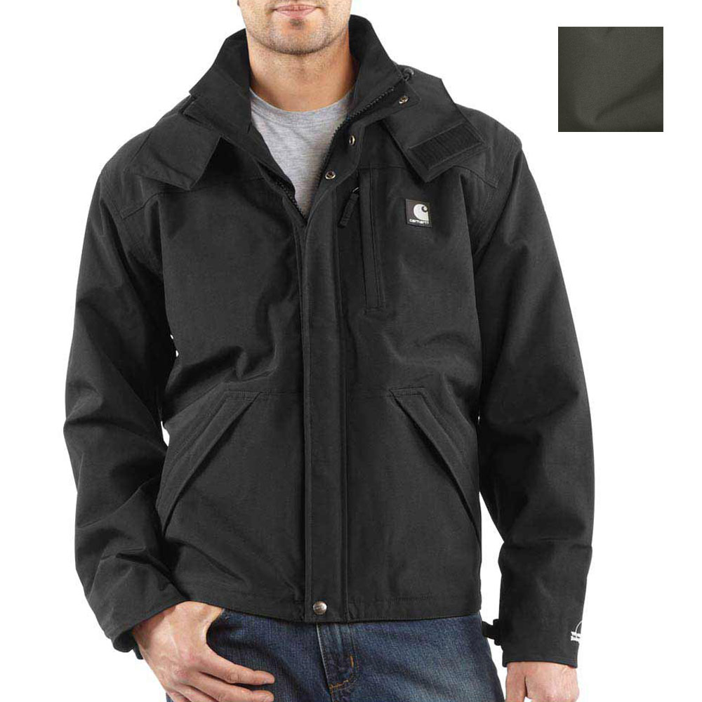 Carhartt Shoreline Waterproof Hooded Rain Jacket