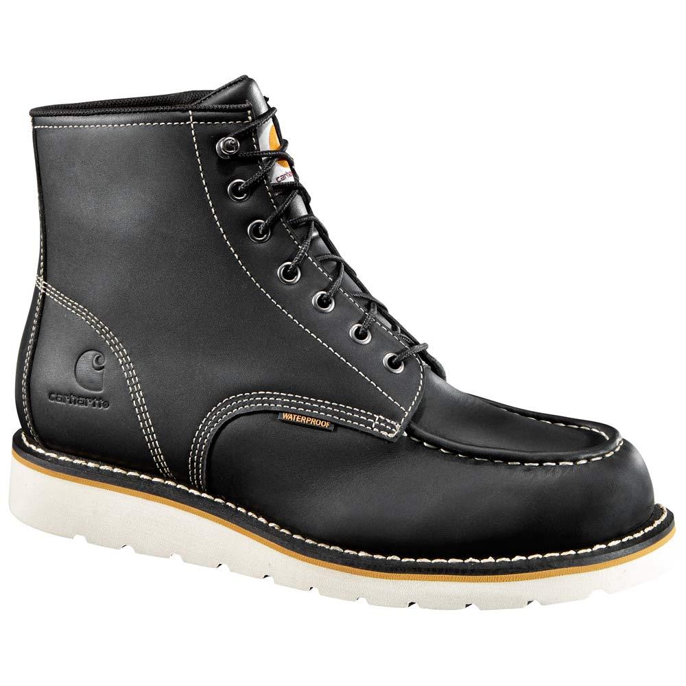Carhartt 6-Inch Black Moc Toe Wedge