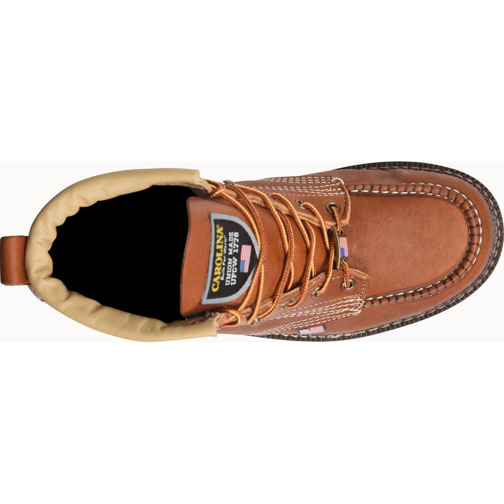"Carolina® Men/'s 6/"" Domestic Moc Steel Toe Work Boots CA7503"