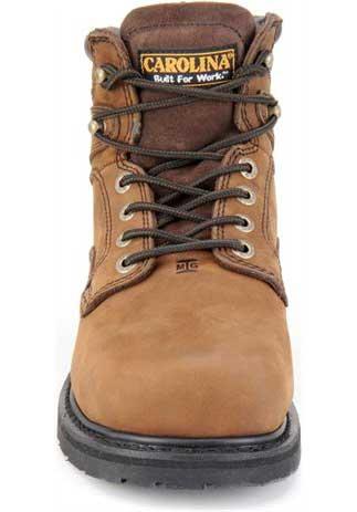 cab5567c7ab Men's Carolina CA9599: 6-inch Broad Steel Toe Internal MetGuard Boot - Dark  Brown