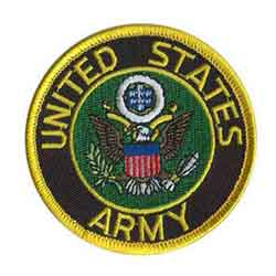 Military Uniform Rank Pins and Patches