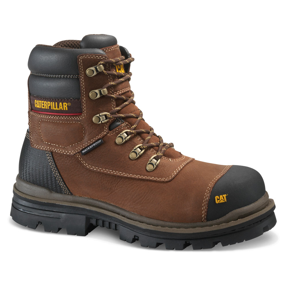 2d58e4164ae Caterpillar Adhesion ICE+ Waterproof Insulated Composite Toe Work Boot