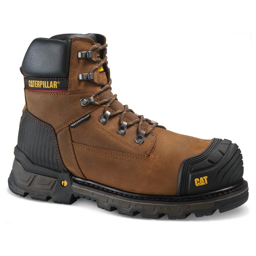 Excavator XL 6-Inch Brown Waterproof