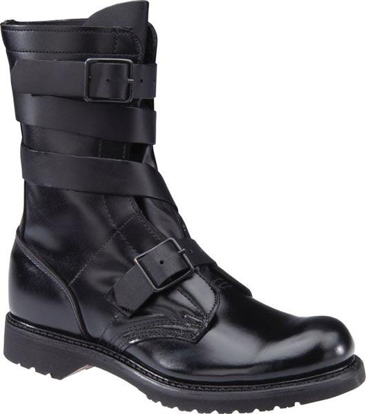 H Amp H Brand 5407 10 Inch Black Leather Tanker Boot Men S