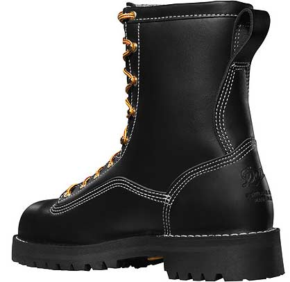 7c1d81f9cae Danner Super Rain Forest 8-inch Black Composite Safety Toe Work Boots