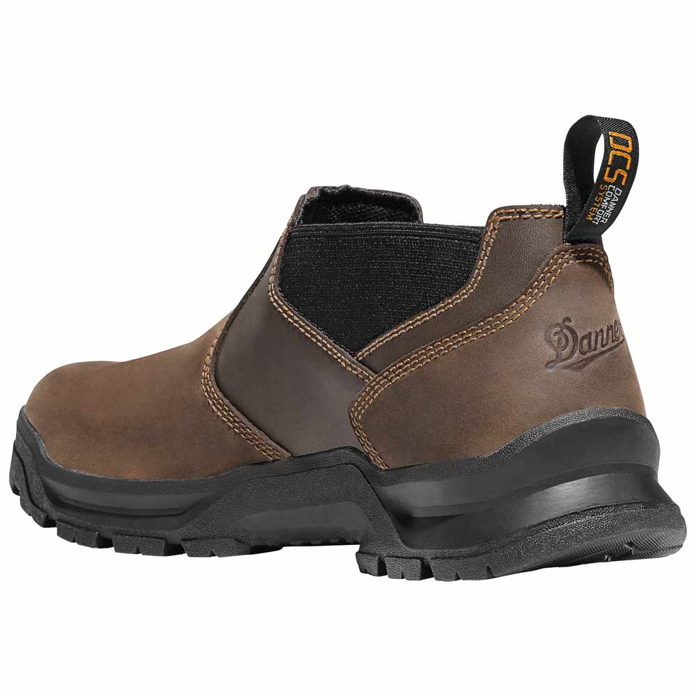 Danner Crafter Romeo 3 In Brown Waterproof Work Shoe 12441