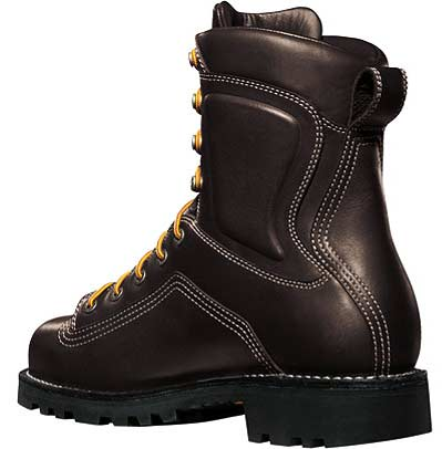 Danner 14548 Danner Quarry 8 Inch Brown Alloy Safety Toe