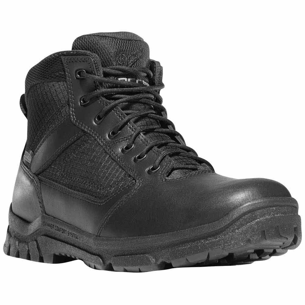 Danner Lookout 5 5 In Black Waterproof Duty Boot 23820