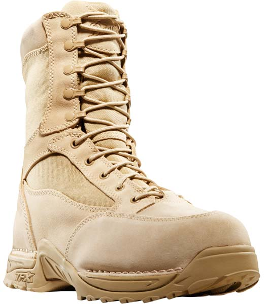 Danner Women S Desert Tan Tfx Rough Out Waterproof Desert