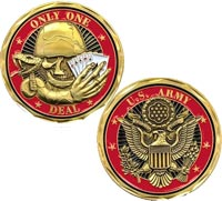 Marine Corps First Strike Deadly Challenge Coin Eagle Crest U.S