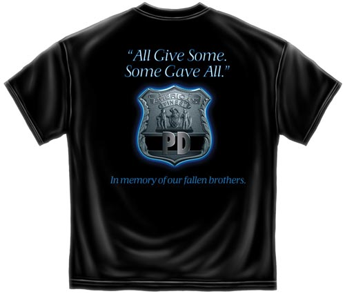 In Memory Of Our Fallen Brothers Police T Shirt Police