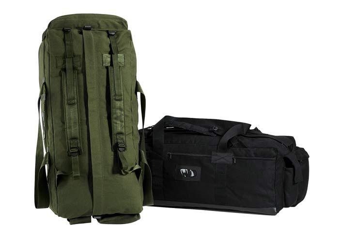 Idf Tactical Duffel Bag Mossad Military Style Duffel