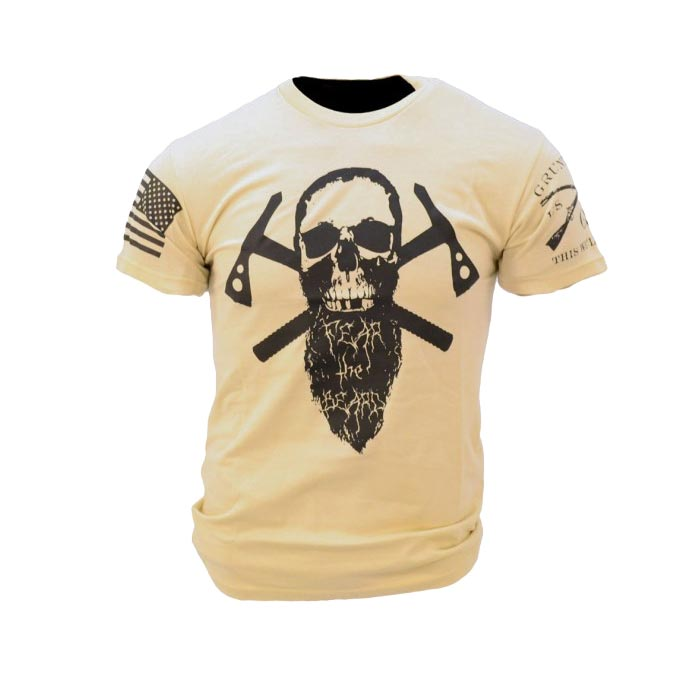 Grunt Style Fear The Beard T Shirt