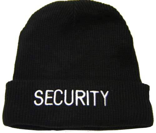 Security Winter Hat  Extra Warm Security s Hat with Fleece Lining 80b9fab2315