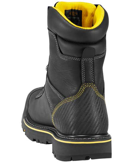 0cc60bc1cf7 Keen Wenatchee Soft Toe Black Waterproof Work Boot - 1007975