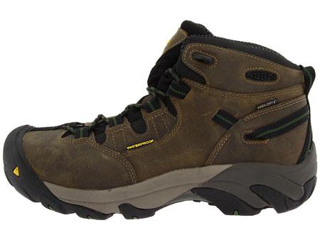 94ecac4dd60 Keen Detroit Mid Height Safety Toe Work Boot - U400-38 Bronze