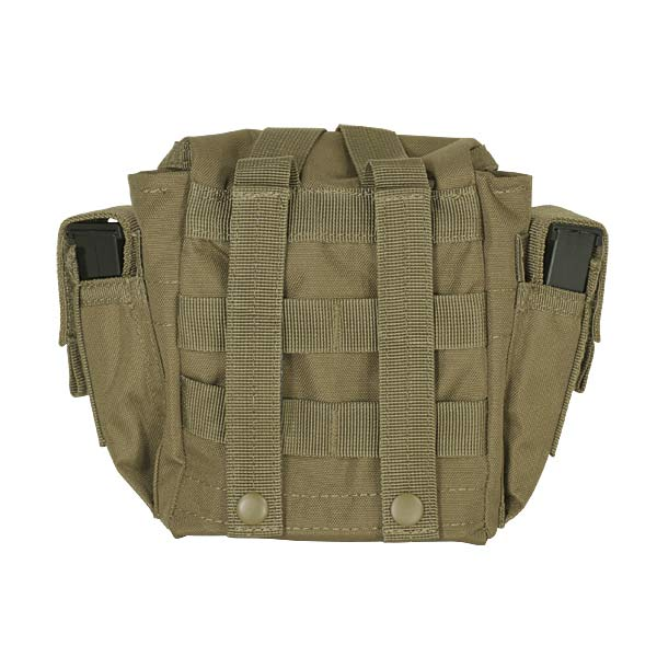 Woodland Camo Molle Military Tactical Utility Pouch /& Paracord Whistle Bracelet