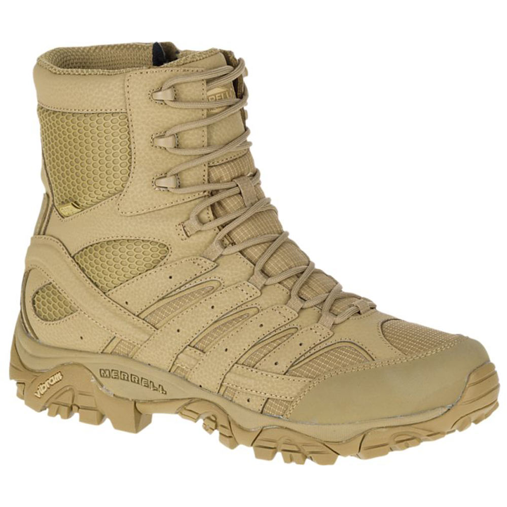 4c11c25761e Merrell Moab 2 Coyote 8-Inch Waterproof Side-Zip Tactical Boot J15841