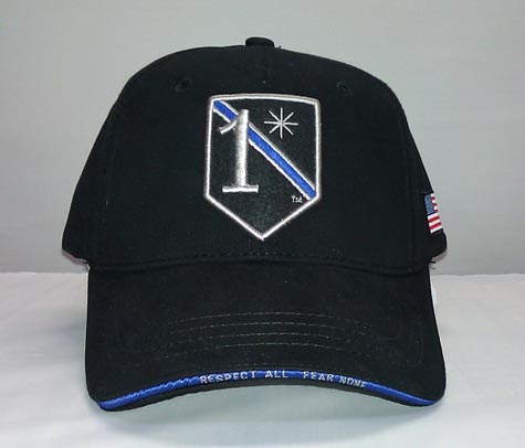 Military 1 Asterisk Baseball Hat One Asterisk Low
