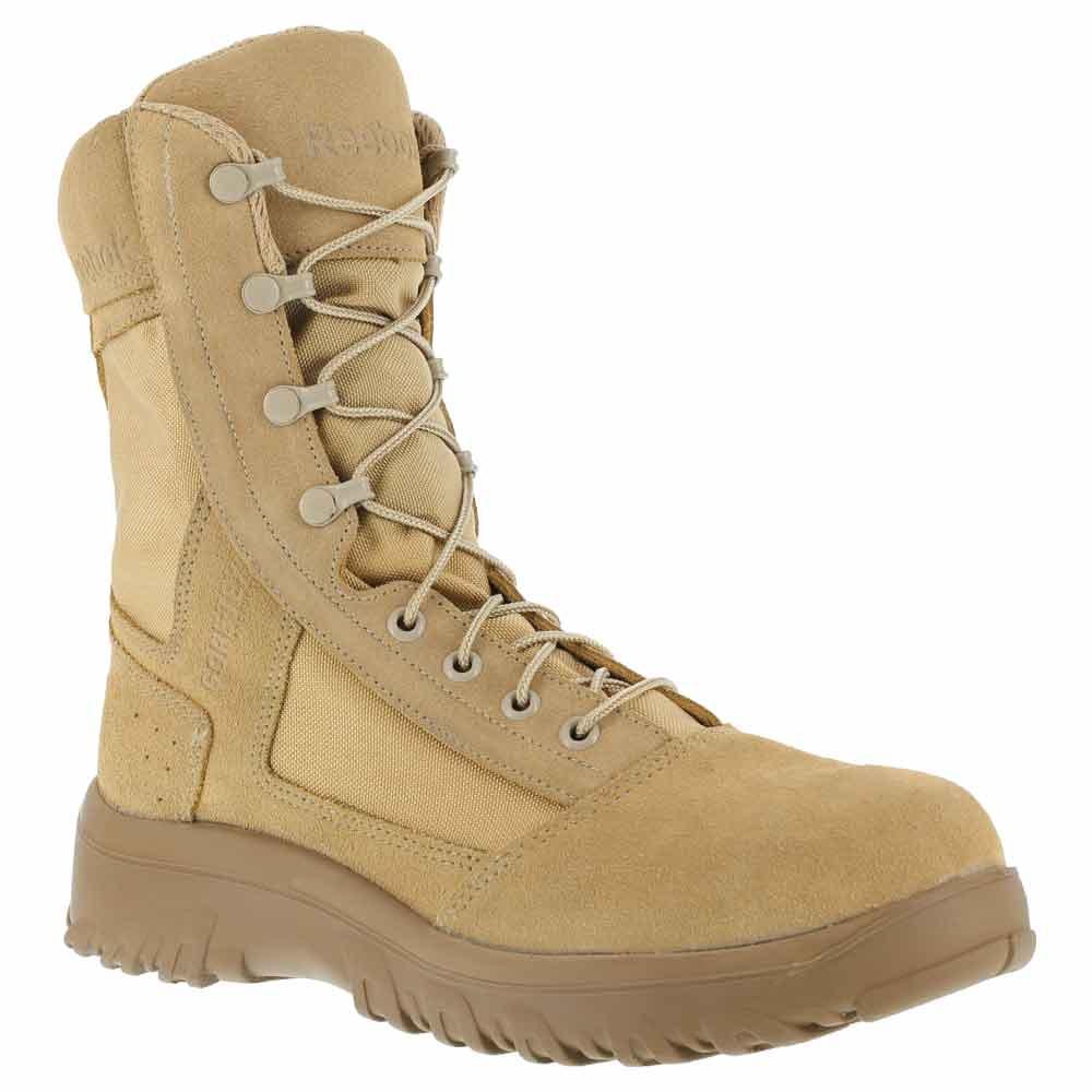 Reebok Krios 8 Inch Desert Tan Military Boot Cm8800