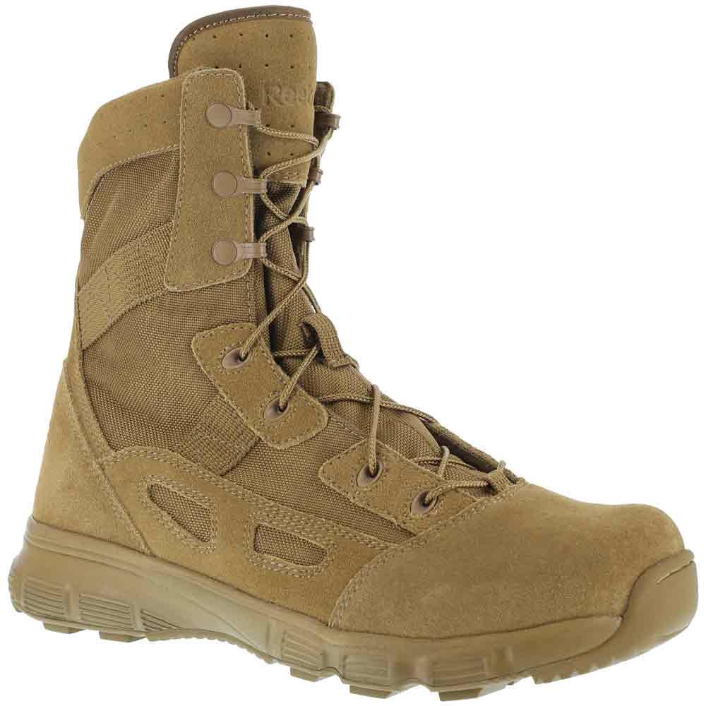 Reebok Hyper Velocity 8 Inch Coyote Duty Boot Rb8281