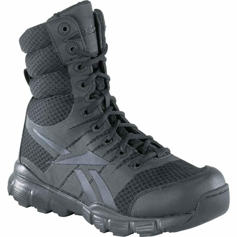 Reebok Dauntless Ultra Light 8 Inch Black Boot Rb8720