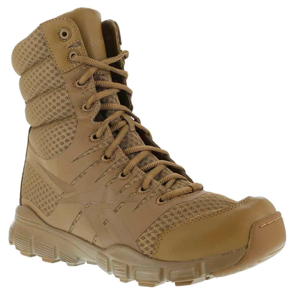 Reebok Dauntless Ultra Light 8 Inch Coyote Boot Rb8721